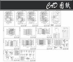 综合楼建筑施工图全套