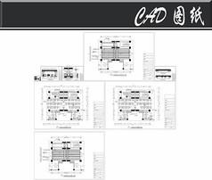 洗浴城休息大厅施工图