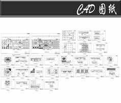 休闲酒店装修设计施工图