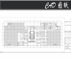 五星级洗浴中心二层平面图