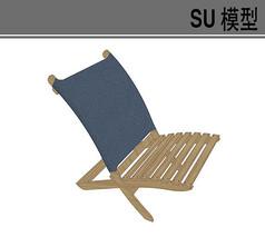 木质休闲交叉椅