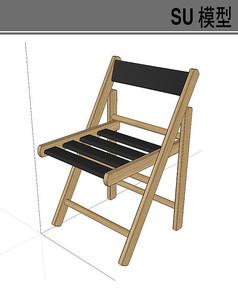 木质折叠椅