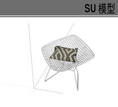 商务镂空座椅