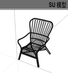 黑色钢铁透气座椅