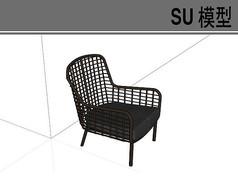 黑色镂空座椅