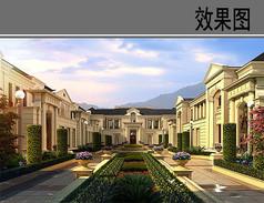 杭州某别墅住宅效果图