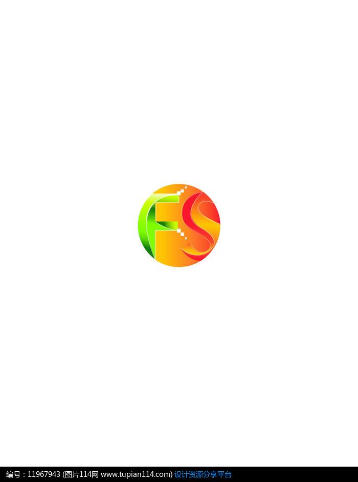 fs立体logo设计ai