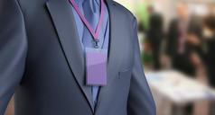 企业公司胸牌工作证贴图模板
