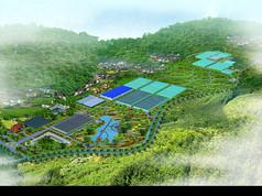 1300亩休闲观光农业园规划