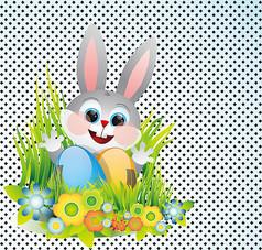 卡通兔子形象