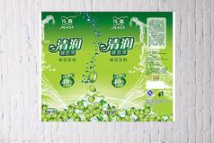 绿豆饮料包装设计