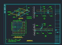 铝扣板标准CAD节点图