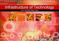 科技时代商务PPT模板