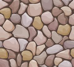 石墙矢量贴图