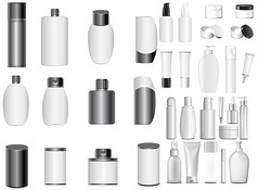 白色化妆品包装