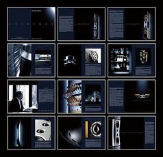 音箱产品画册