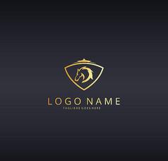 盾牌纹章logo