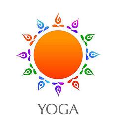 瑜伽企业标志
