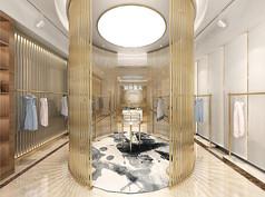 高档服装店3D模型素材