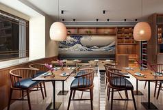 日式餐厅3D模型素材