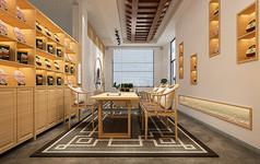 茶叶店3D模型素材