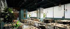 泰式茶餐厅3D模型素材
