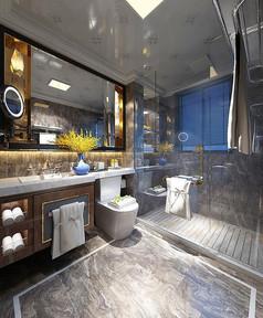 酒店卫生间3D设计模型