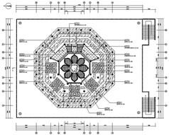 全套八角装修施工设计图