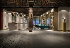 工艺厂大厅设计模型素材