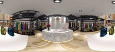 服装专卖店设计模型素材