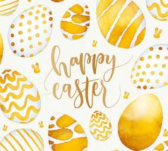 复活节金色彩蛋