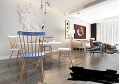 简约客厅室内模型