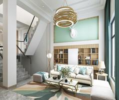 时尚现代别墅3D模型