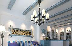地中海风客厅模型