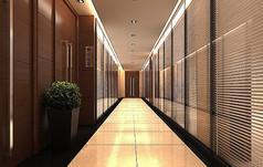 走廊3d模型