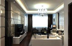 整体客厅模型