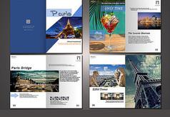 旅游主题画册
