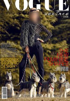 时尚杂志封面