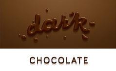 巧克力英文字体
