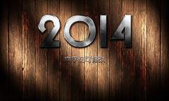 2014金属字体