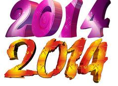 2014创意字体