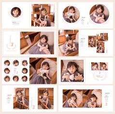 儿童摄影相册模板psd童趣世界