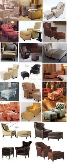 20套单人沙发椅