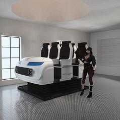 VR设备+动感飞车